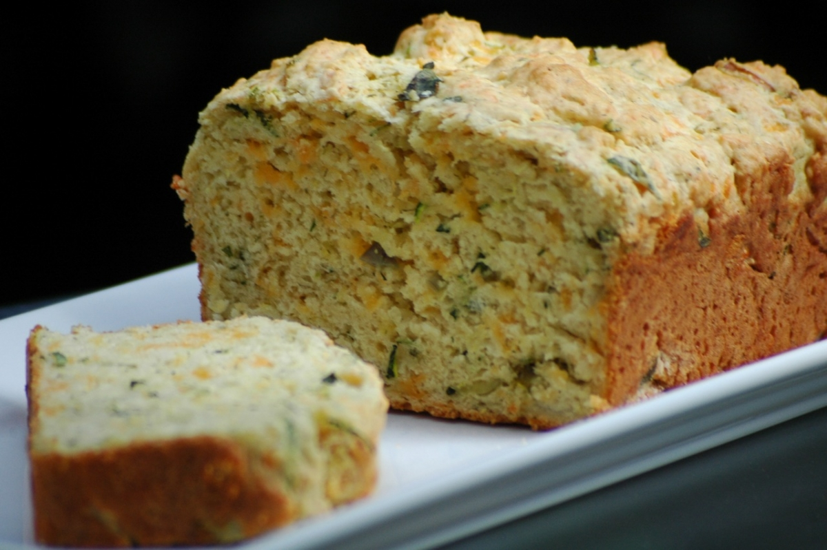 Zucchini Cheddar Bread from Joy of Cooking | Umami Girl