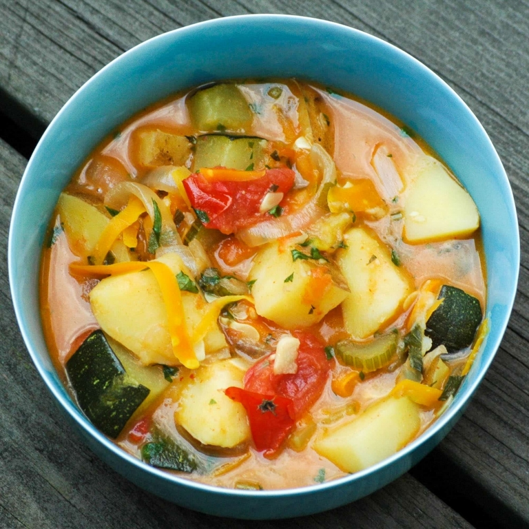 Thai Red Curry with Vegetables | Umami Girl