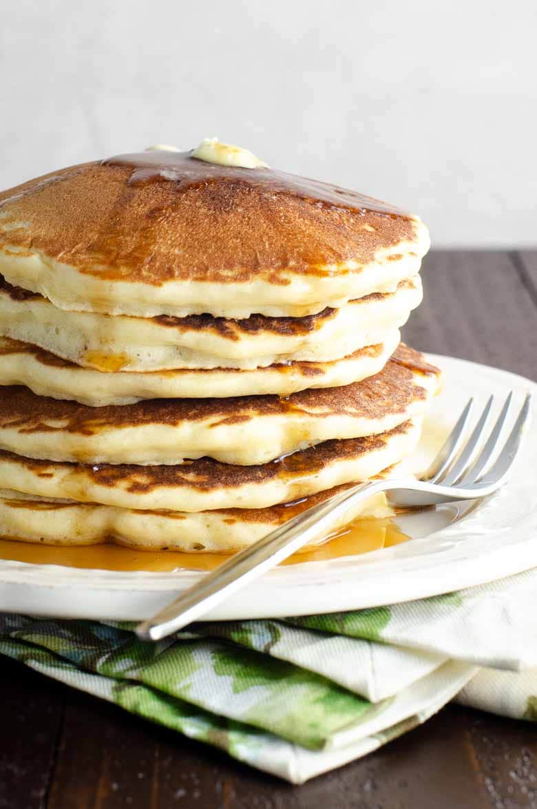A Fabulous Basic Pancake Recipe + Tips For The Best