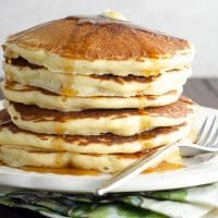 A Fabulous Basic Pancake Recipe + Tips for the Best Pancakes