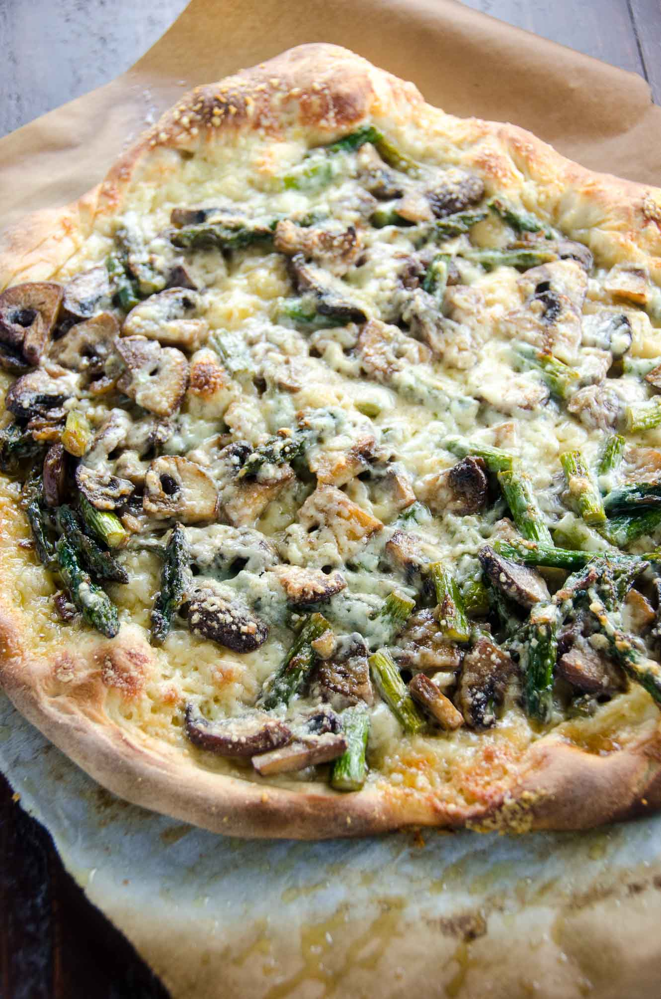 Spring Vegetable Pizza | Umami Girl