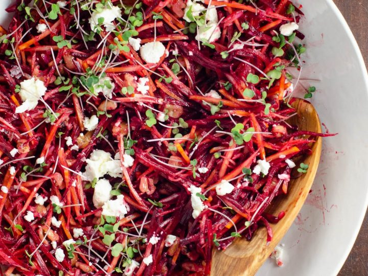 Raw Beet Salad Recipe | Umami Girl
