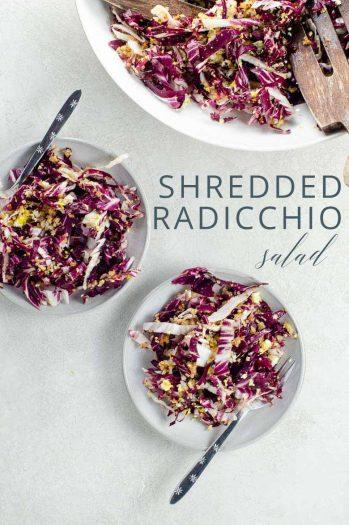 Zuni Cafe Shredded Radicchio Salad _ Umami Girl PIN