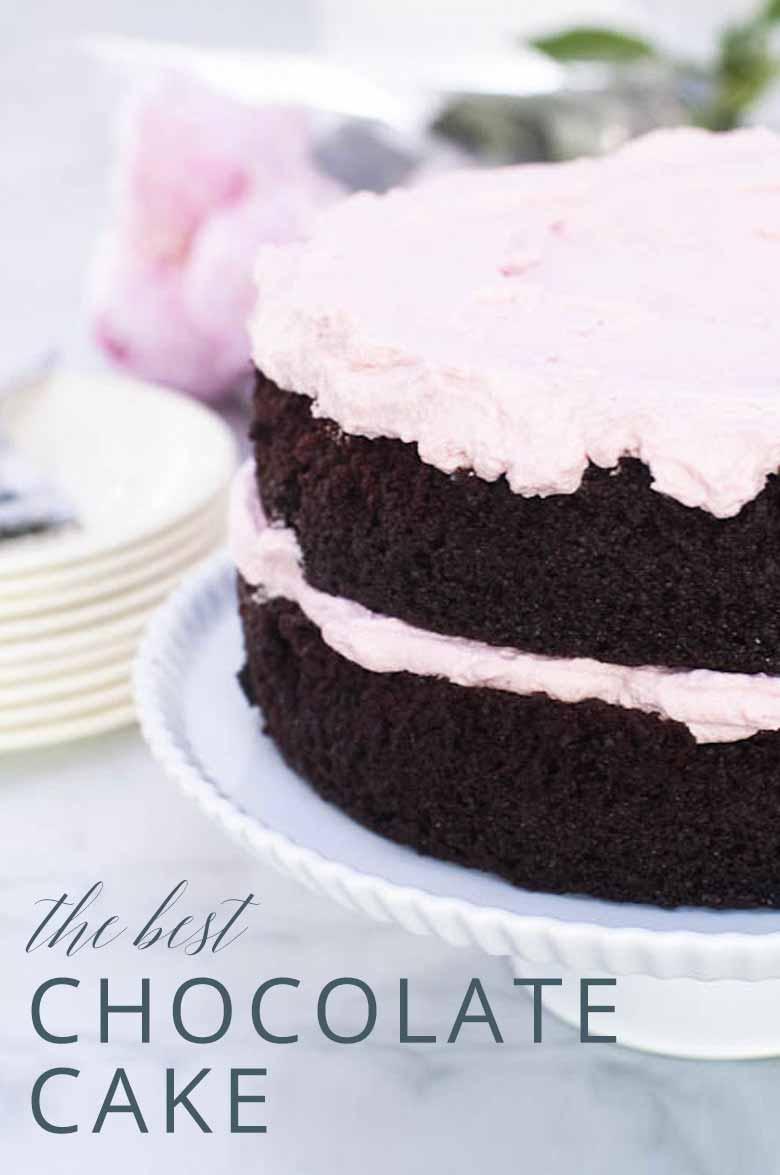 Best Chocolate Cake Recipe _ Umami Girl PIN