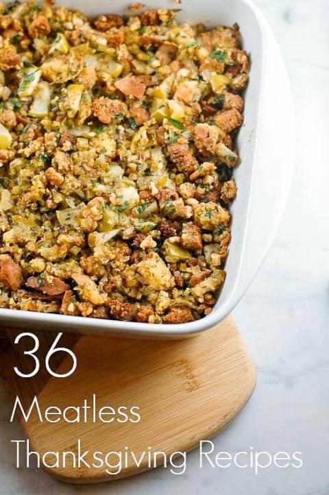 36 Meatless Thanksgiving Recipes | Umami Girl