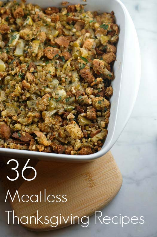 36 Meatless Thanksgiving Recipes