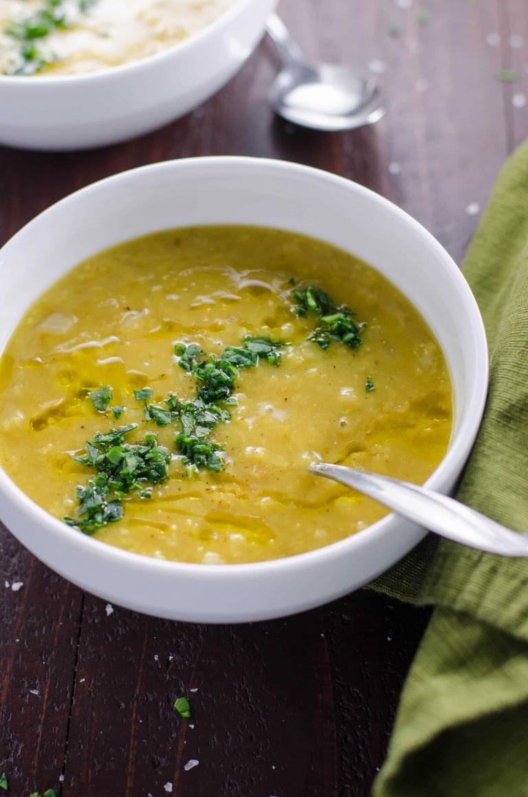 Layla's Lentil Soup: Easy Vegetarian Red Lentil Soup | Umami Girl-2