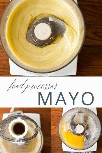 Food Processor Mayonnaise _ Umami Girl PIN