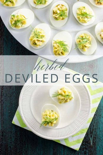 Herbed Deviled Eggs _ Umami Girl PIN