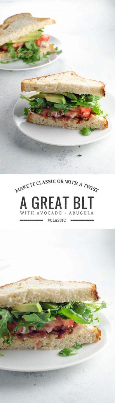 BLT Recipe with Avocado | Umami Girl