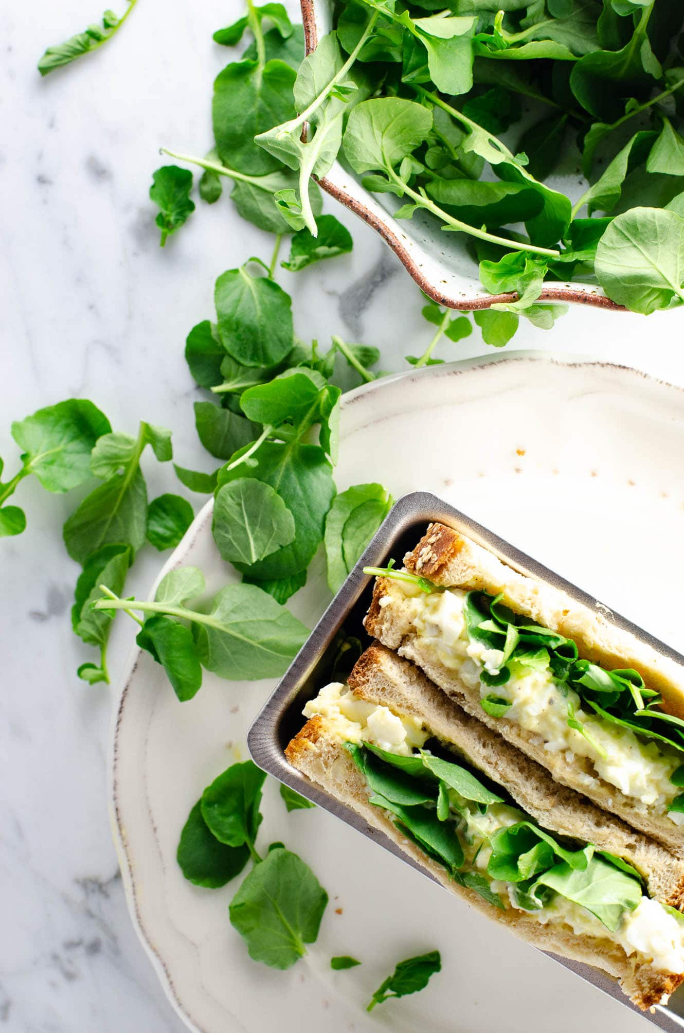 Egg and Watercress Sandwich (Egg and Cress) | Umami Girl