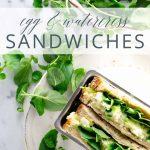 Egg and Watercress Sandwiches _ Umami Girl PIN