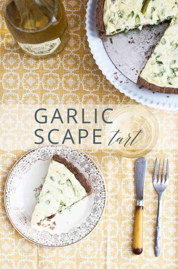 Garlic Scape Tart _ Umami Girl PIN