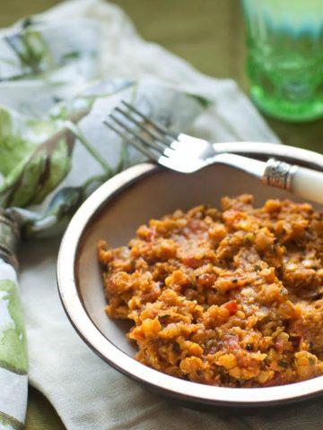 Ottolenghi Spiced Red Lentils | Umami Girl