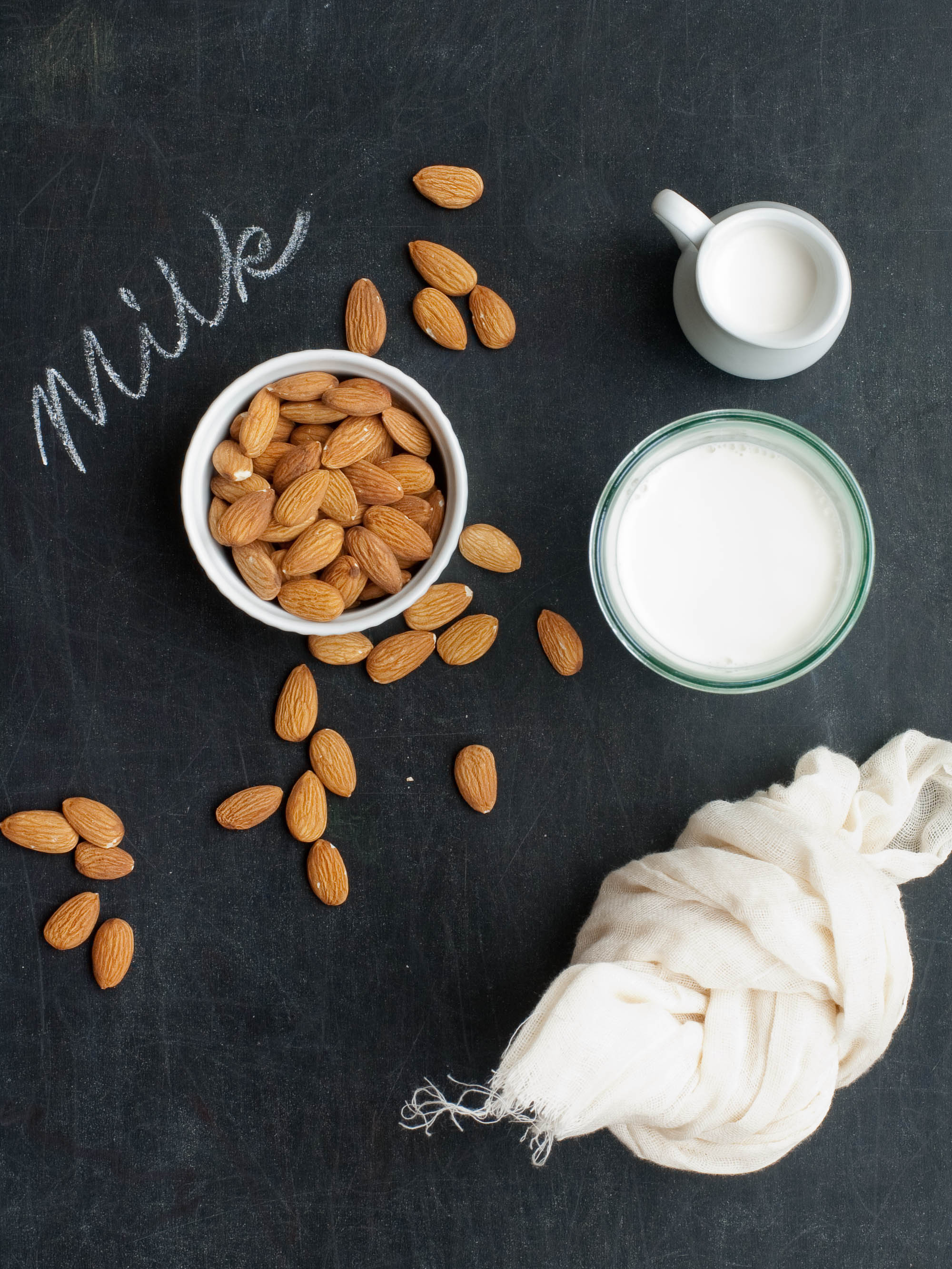 How to Make Almond Milk at Home | Umami Girl