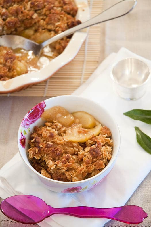 ... Crisper Whisperer on Serious Eats: Classic Apple Crisp | Umami Girl