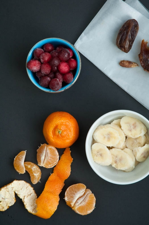 Mellow Cranberry Smoothie Recipe with Clementine | Umami Girl
