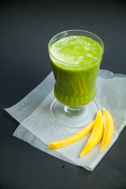 Lean Green Smoothie on Serious Eats | Umami Girl