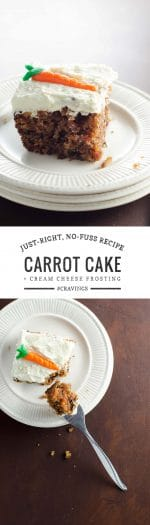 Easy Carrot Cake Recipe | Umami Girl