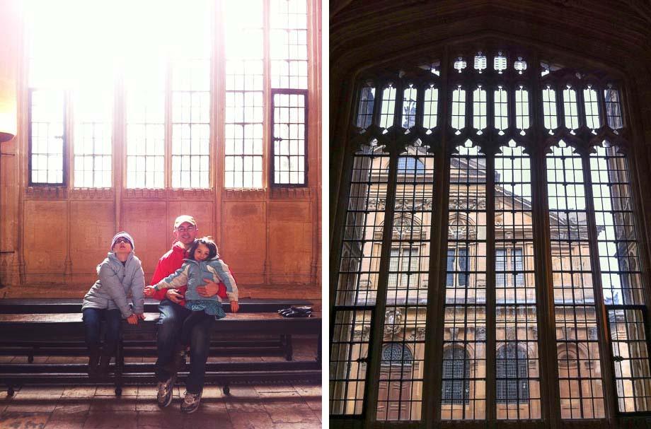 Oxford's Bodleian Library Diptych | Umami Girl