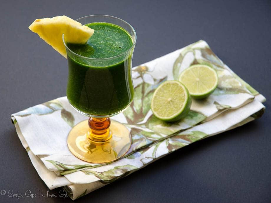 Vegan Strawberry Lemonade Smoothie and Tropical Green ...