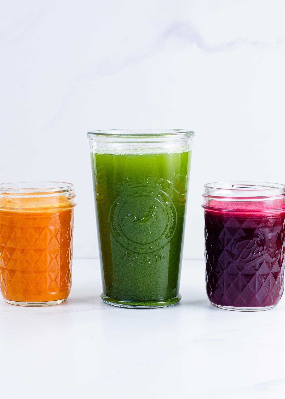 Juicing for beginners (green juice, beet juice, and turmeric shot)