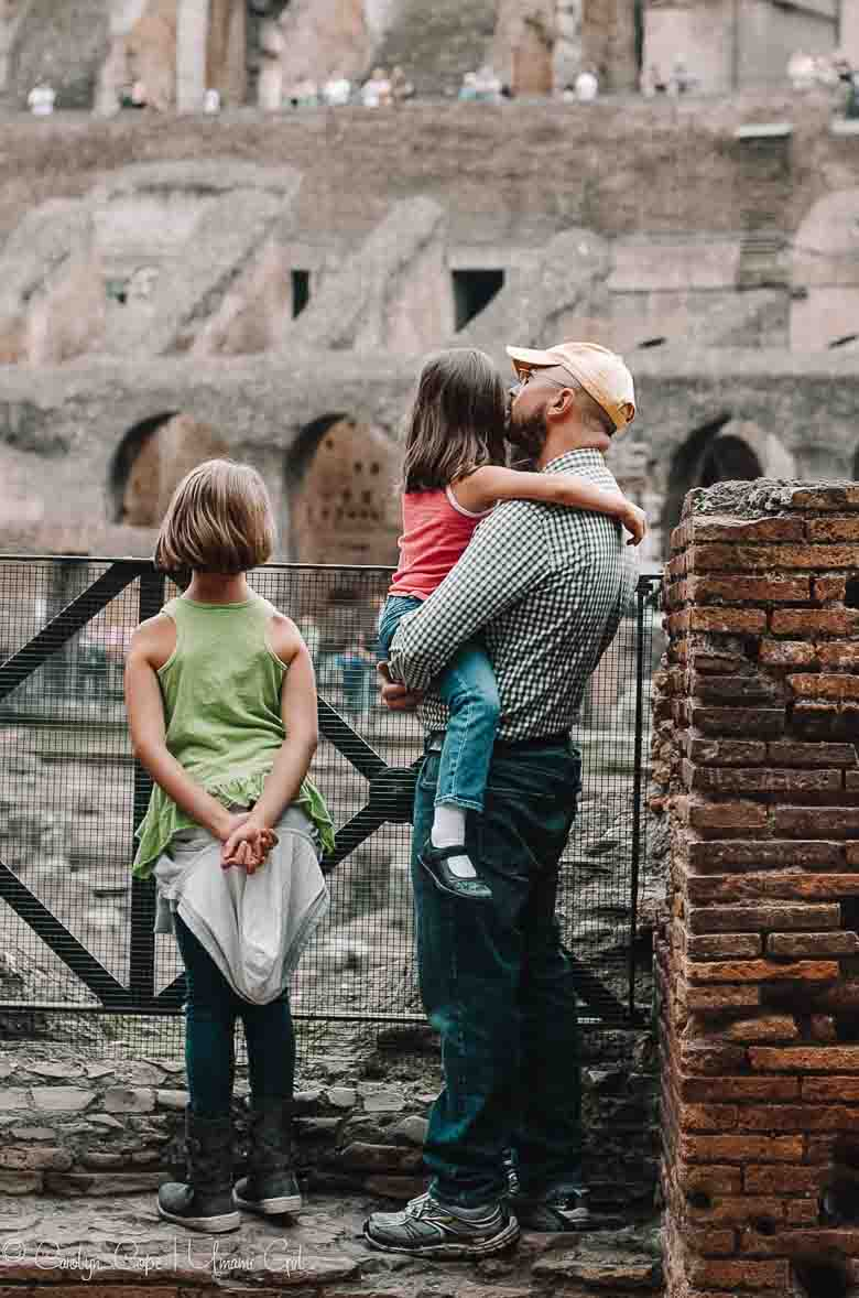 Cope Family at the Colosseum Rome | Umami Girl 780