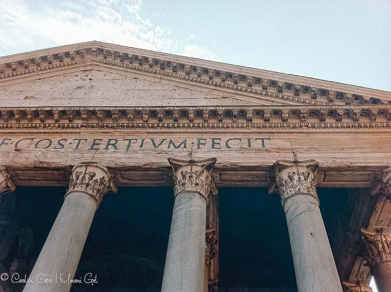 Pantheon Rome | Umami Girl 780
