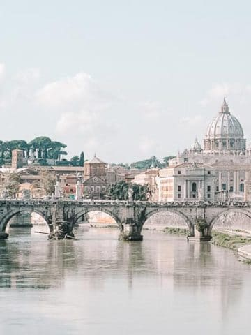 View of Vatican City Rome | Umami Girl 780