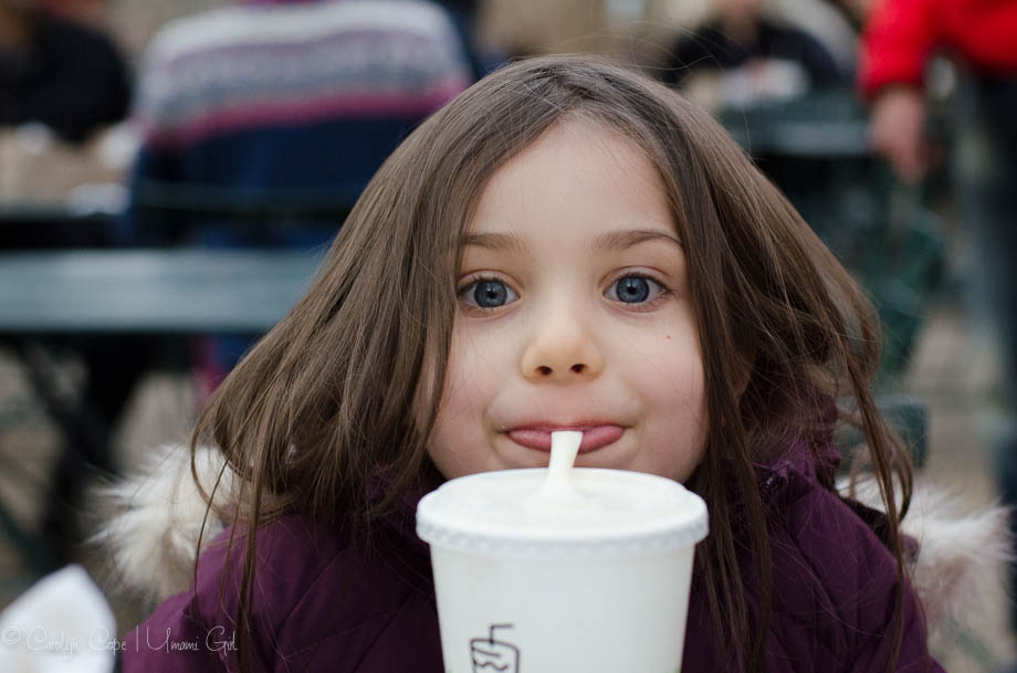 Sipping a Shake at Shake Shack | Umami Girl
