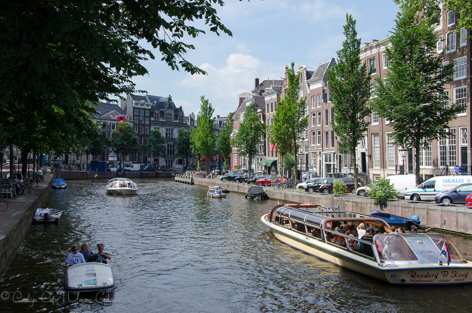 Amsterdam Canal Boats | Umami Girl
