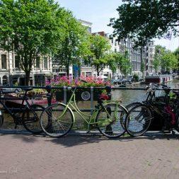 Amsterdam Canal Bridge Photography