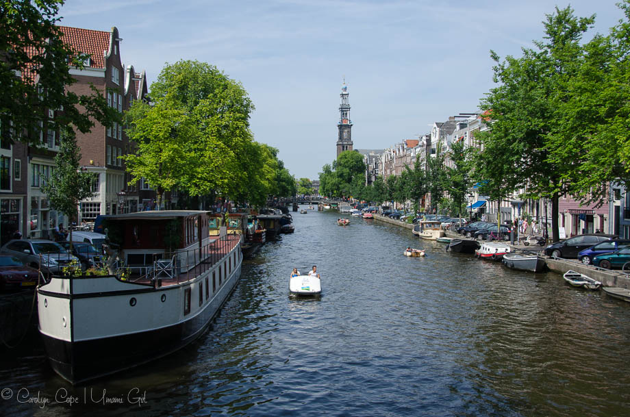 Jordaan Canal View Amsterdam | Umami Girl