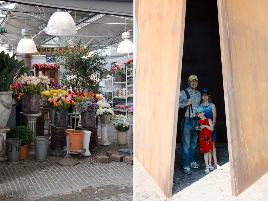 Richard Serra and Flower Market Amsterdam | Umami Girl