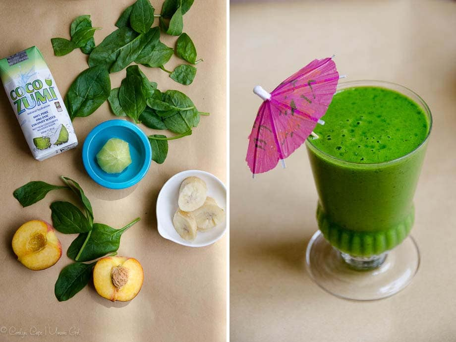 Tropical Green Smoothie Recipe