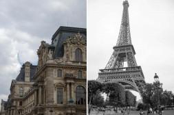Eiffel Tower Paris, Louvre Paris