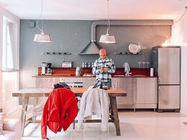 Helsinki Finland Airbnb Kitchen | Umami Girl 780