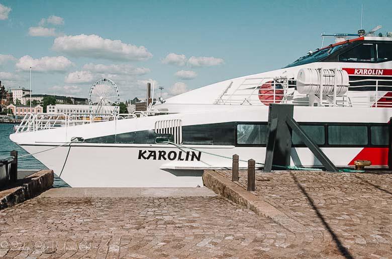Hydrofoil Helsinki Finland to Tallinn Estonia | Umami Girl 780