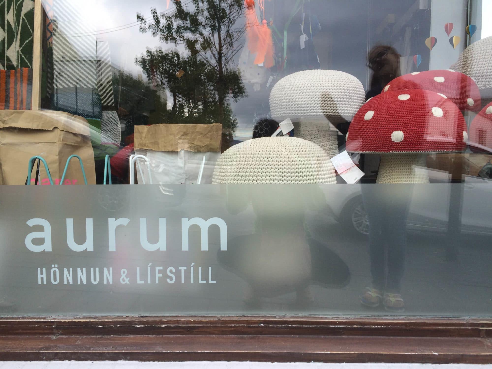 Aurum Shop Reykjavik Iceland | Umami Girl