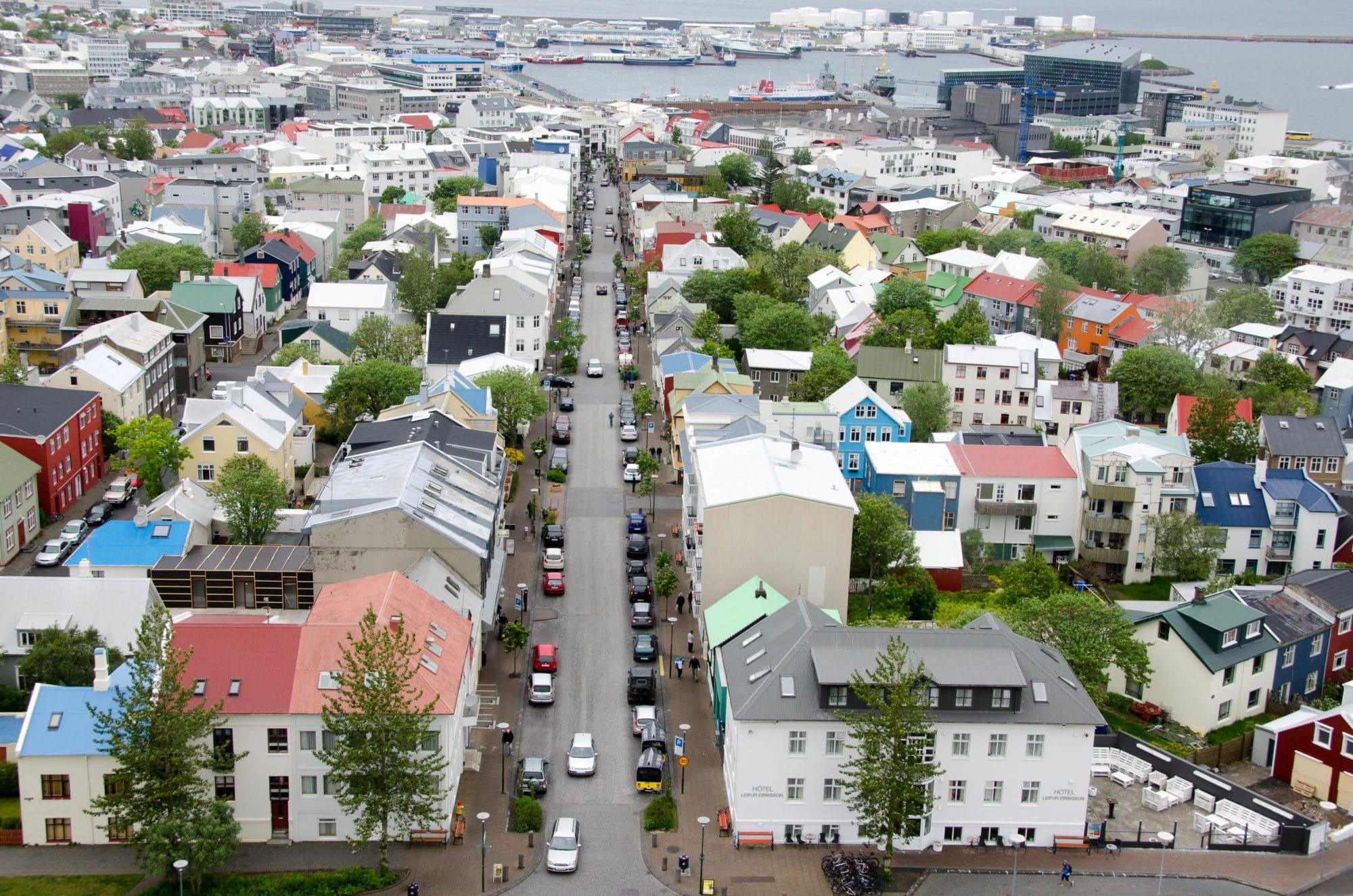 Reykjavik Iceland Skyline | Umami Girl