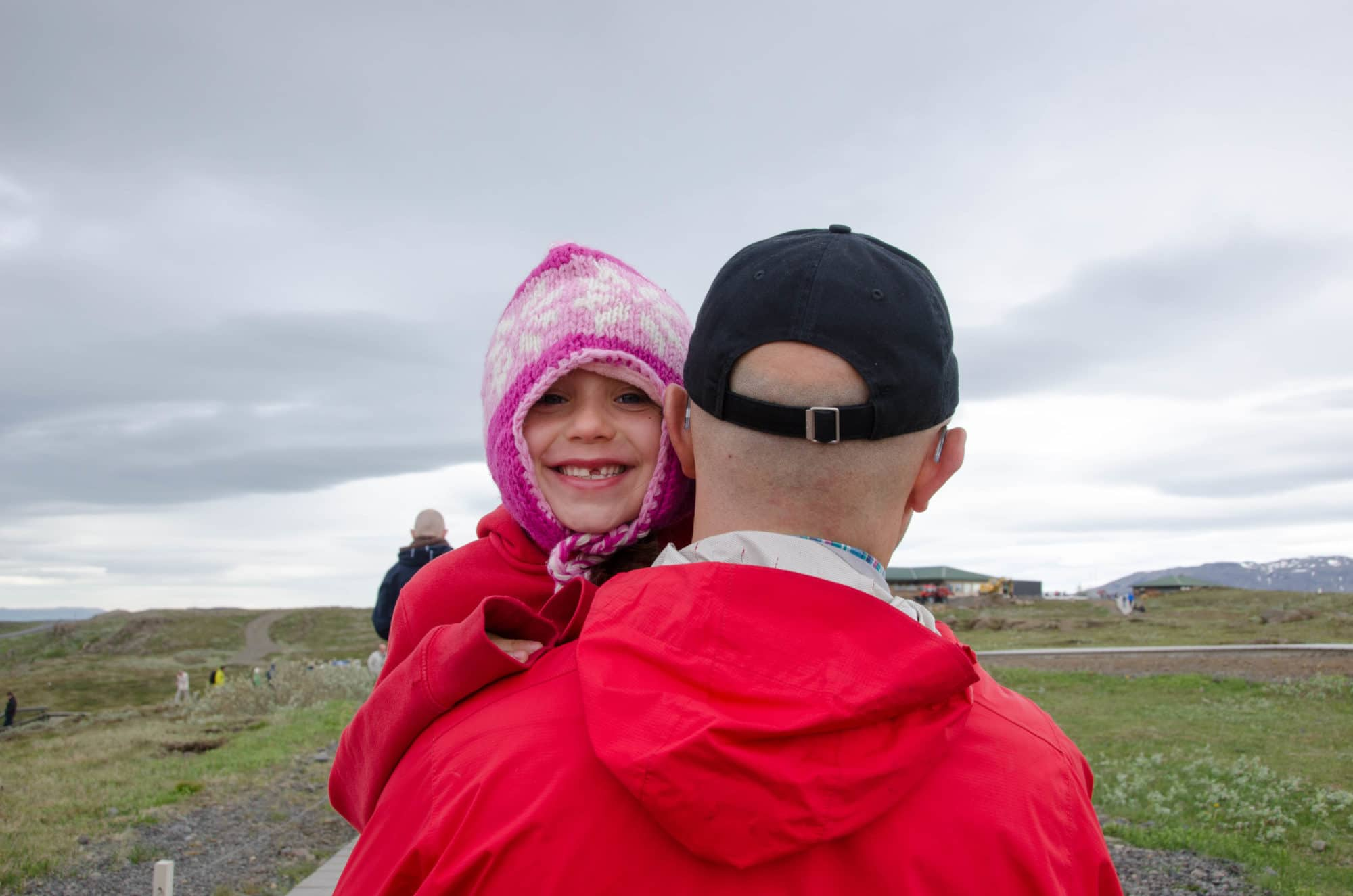 Dad and Daughter Iceland | Umami Girl