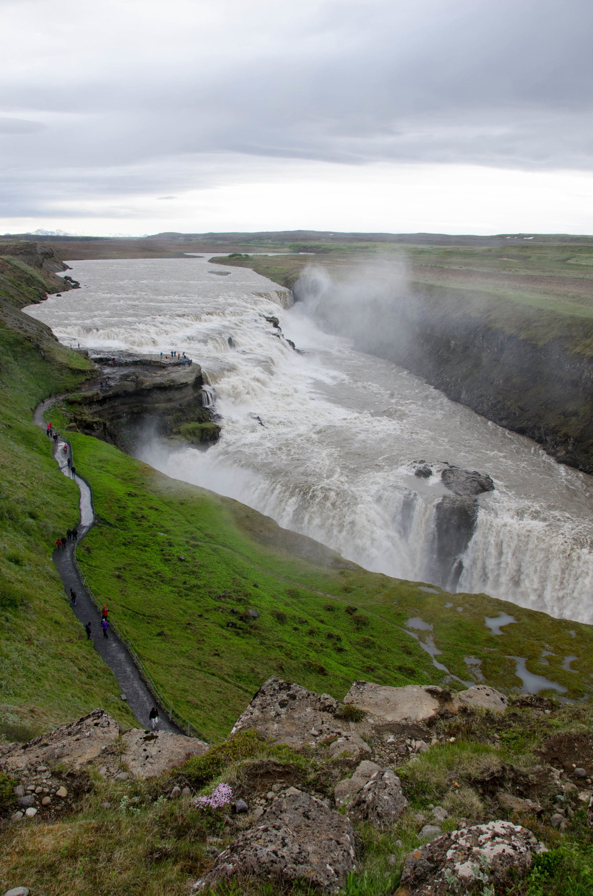 Gulfoss Waterfall Iceland | Umami Girl