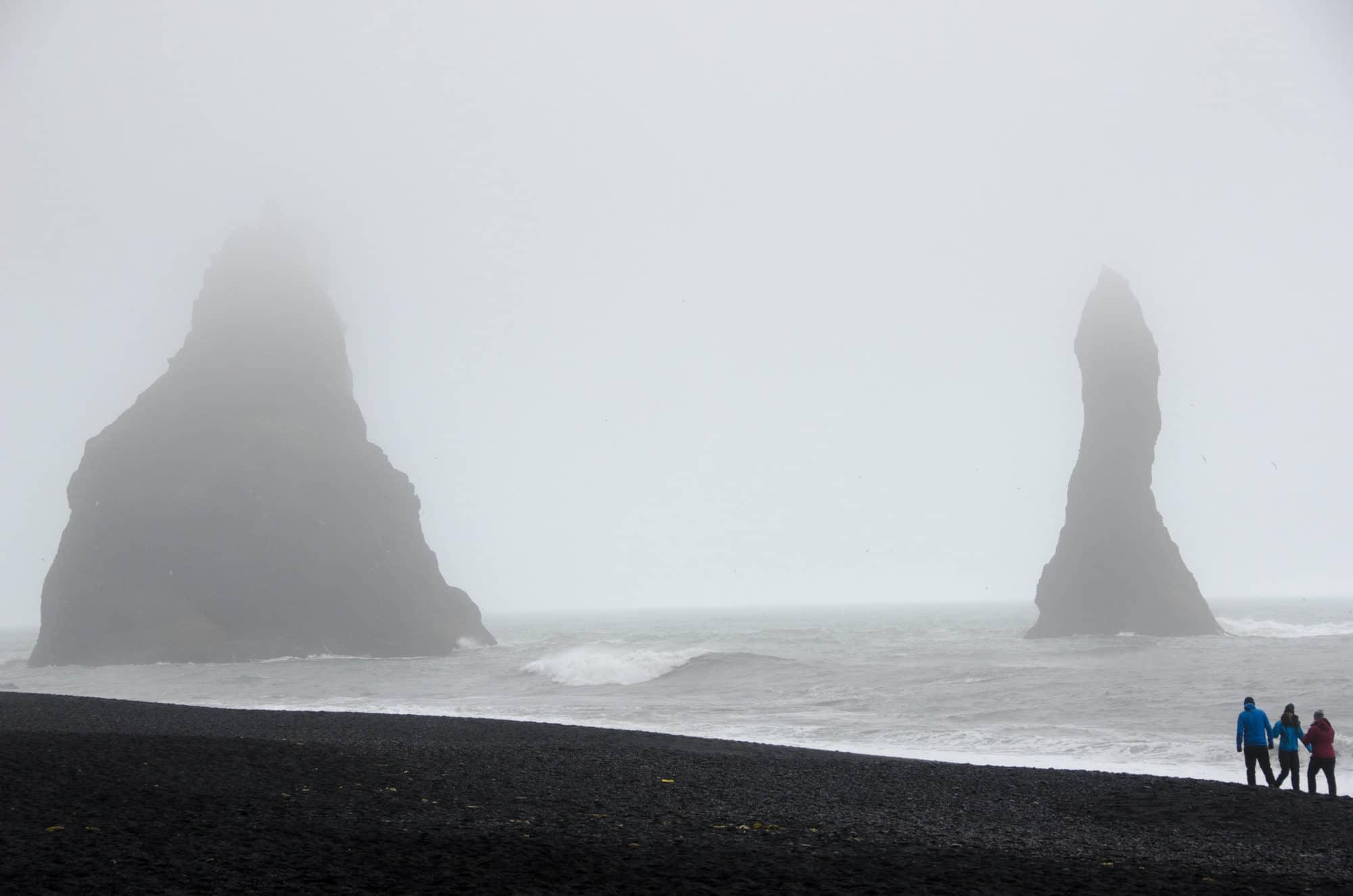 Reynisfjara Black Sand Beach Reynisdrangar Iceland | Umami Girl