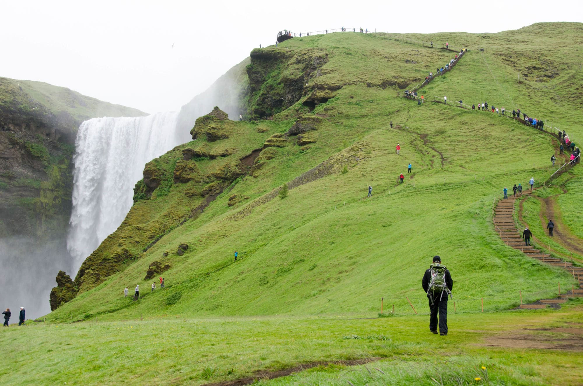 Skógafoss Waterfall Iceland | Umami Girl