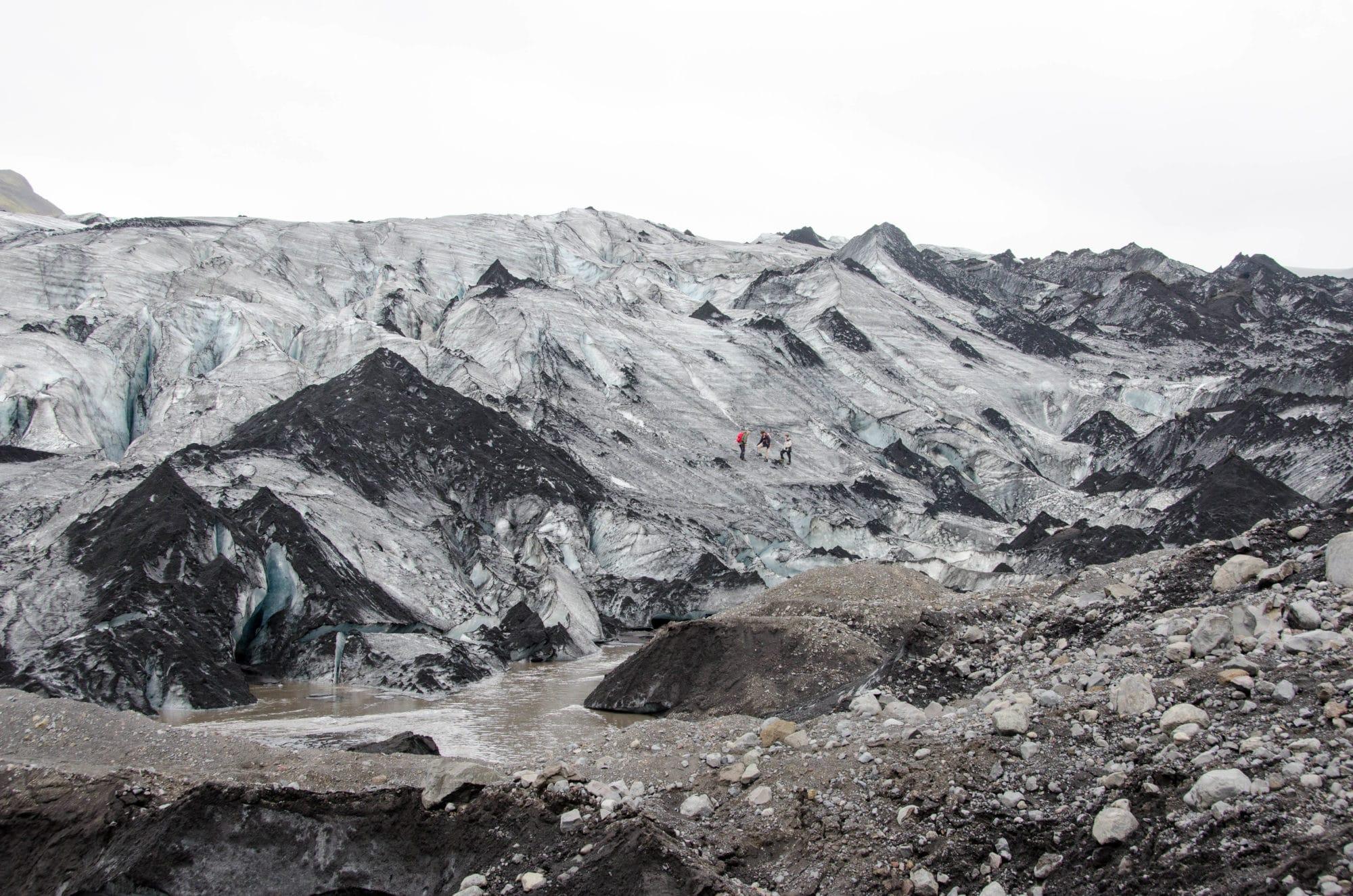 Solheimajökull Glacier Walkers Iceland | Umami Girl