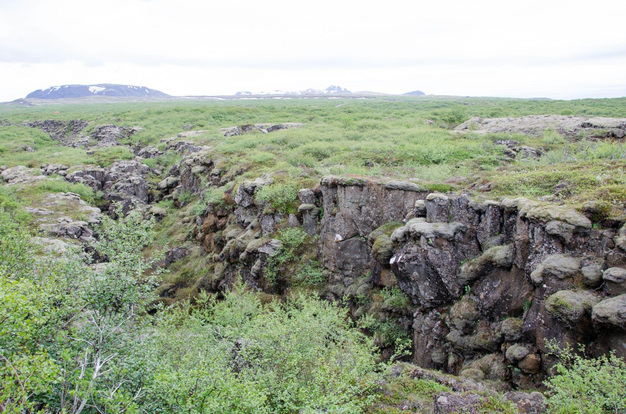 Techtonic Plates Meet Iceland | Umami Girl