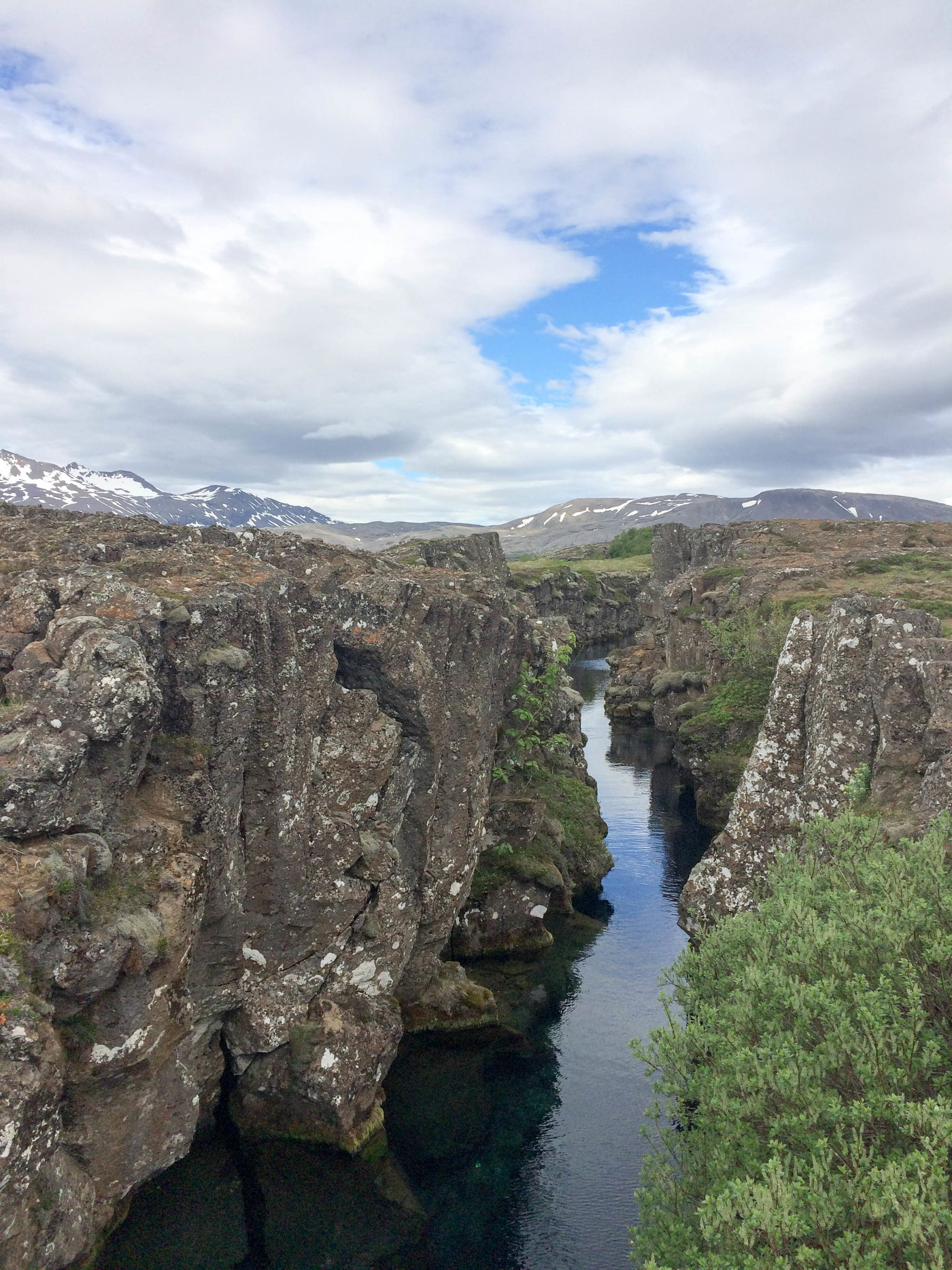 Tectonic Plates Meeting Iceland | Umami Girl