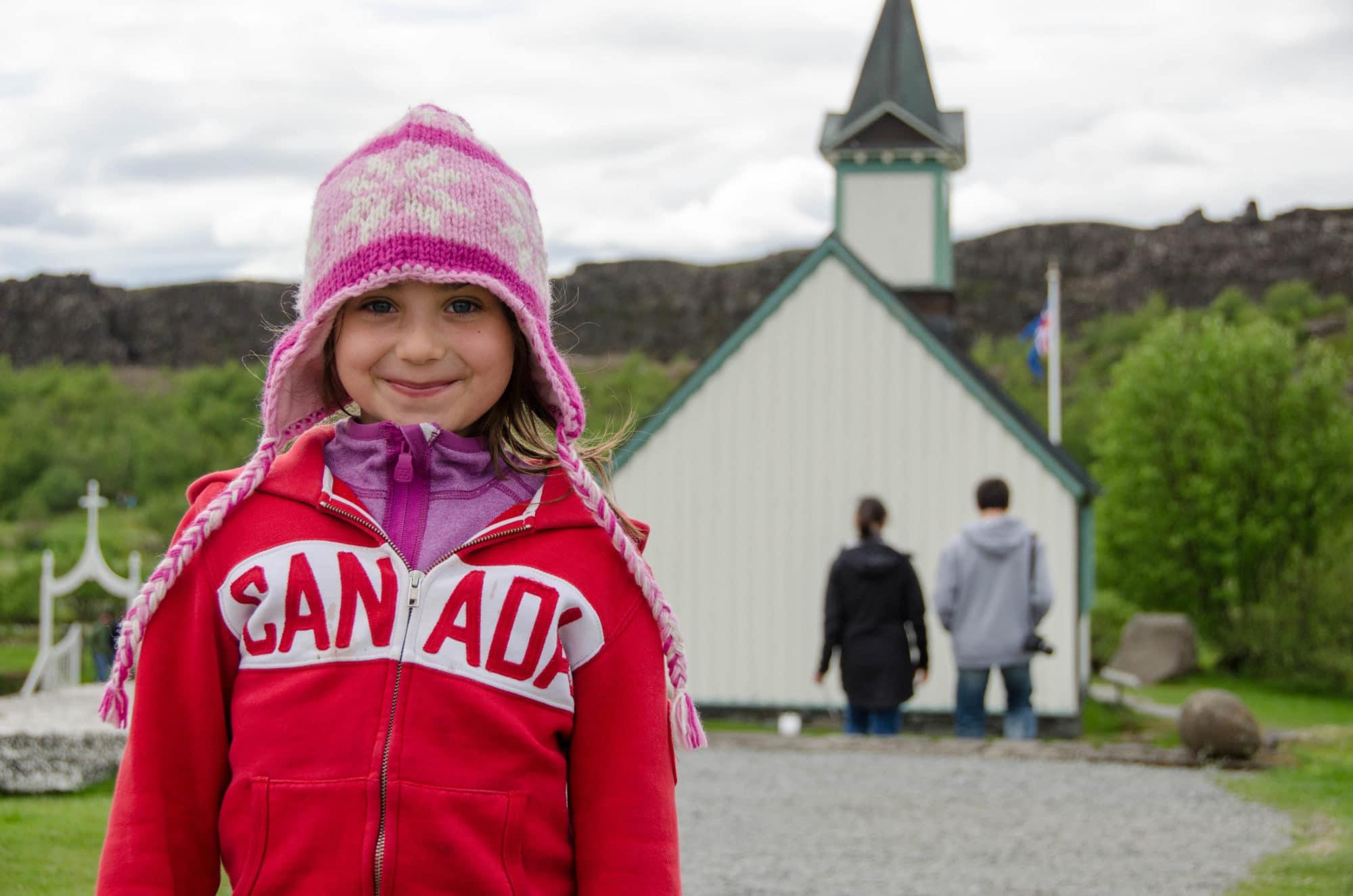 Thingvellir National Park Portrait Iceland | Umami Girl