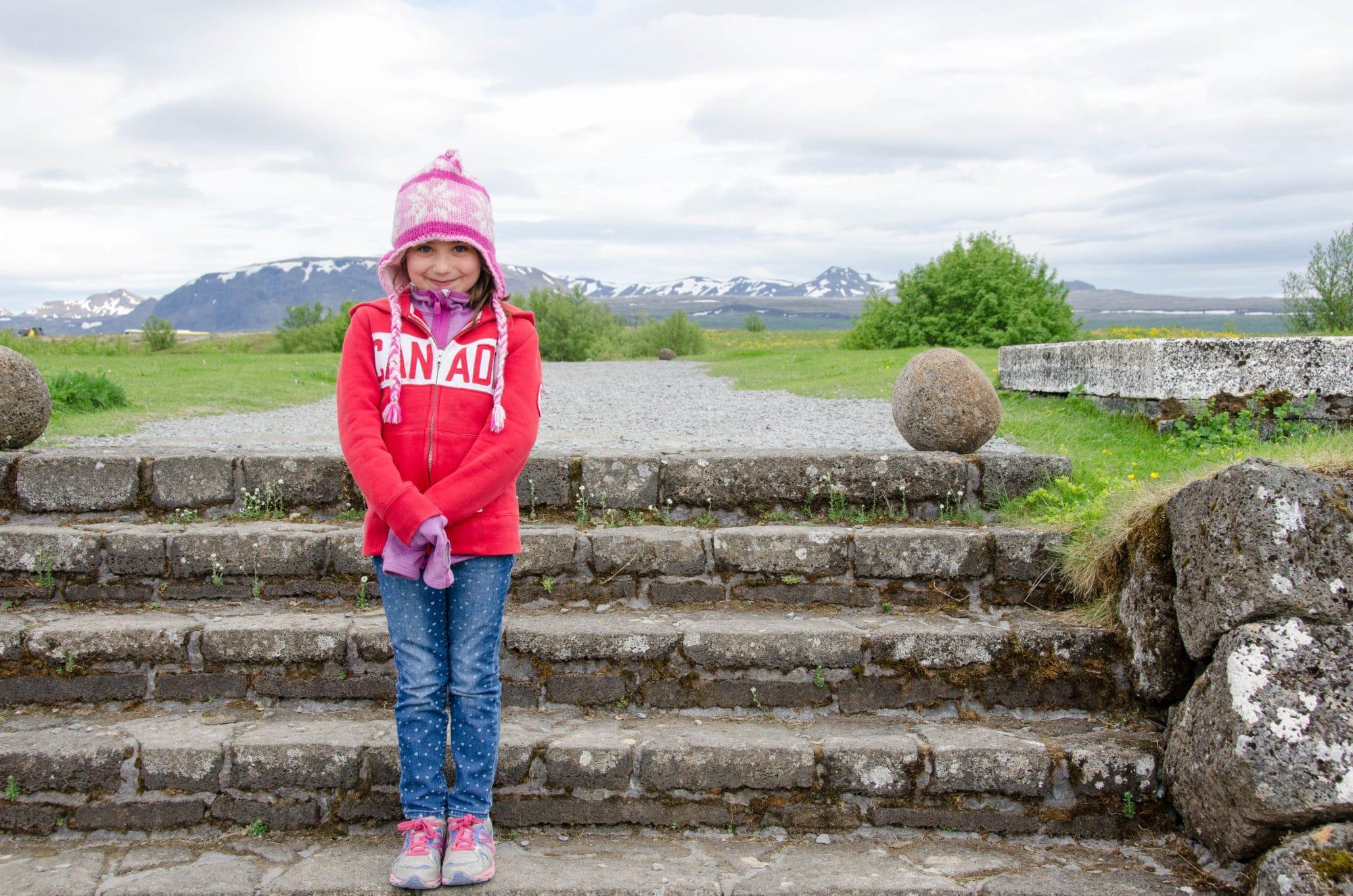 Thingvellir National Park Steps Iceland | Umami Girl