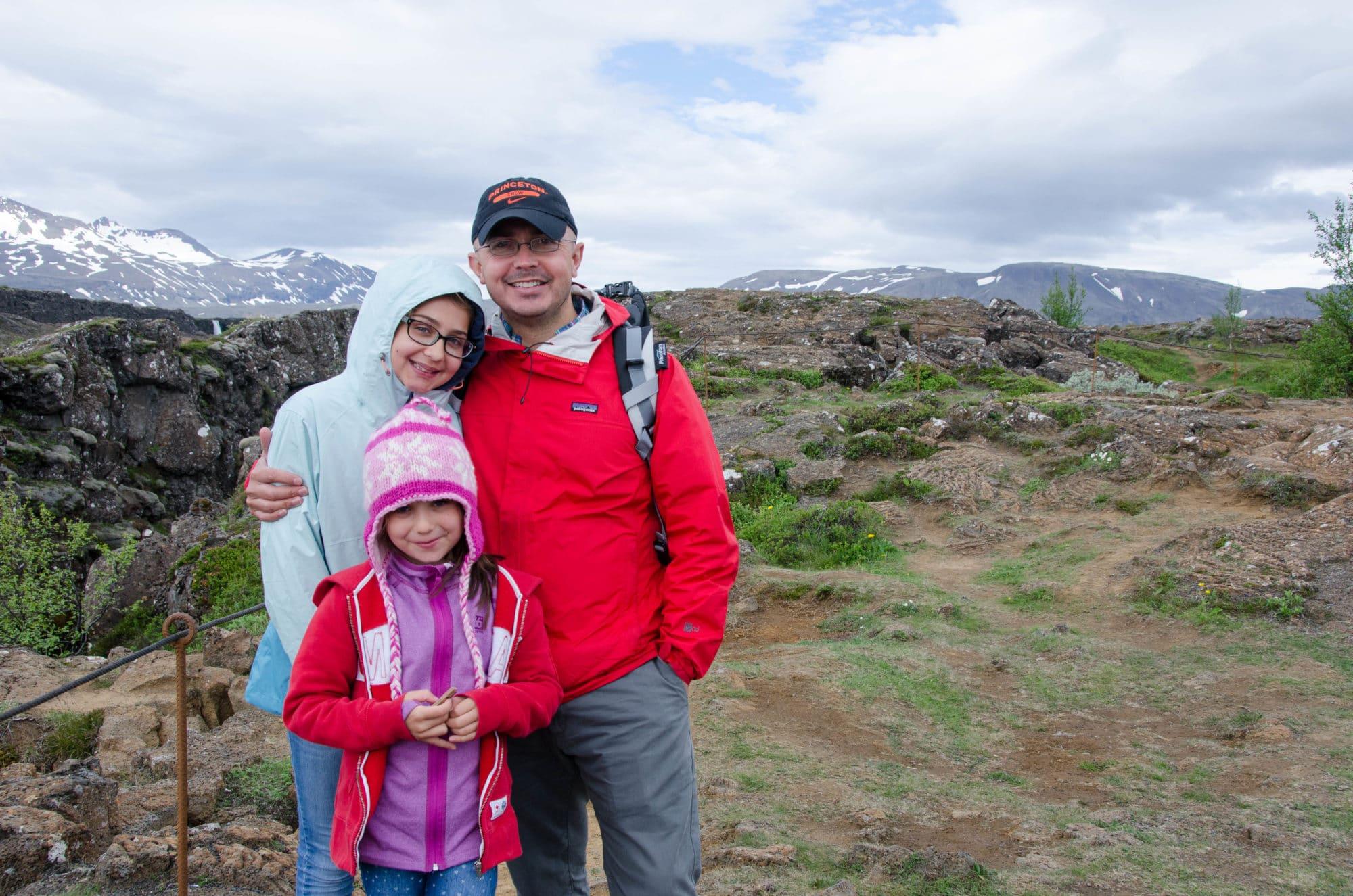 Thingvellir national Park Iceland Family 2 | Umami Girl